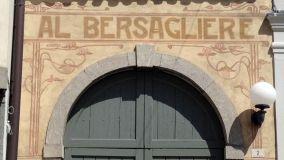 Antiche scritte sulle facciate degli edifici