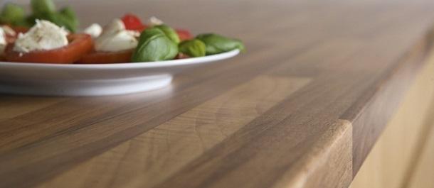 Alternativa al marmo in cucina: Duropal fin. legno