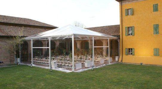 Gazebo Per Matrimonio In Giardino : Allestire il giardino di casa per un matrimonio
