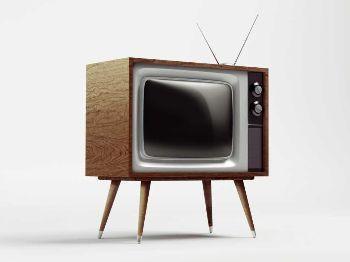vecchia tv a tubo catodico