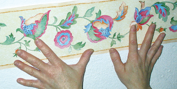 Decorazioni stencil - Decorazioni floreali per pareti ...
