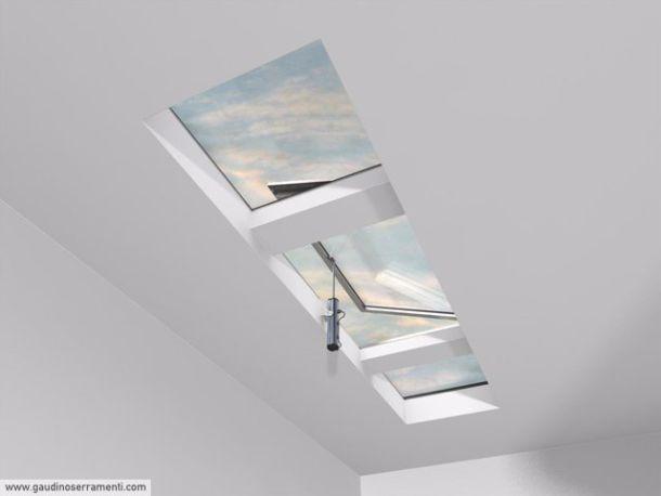Finestre calpestabili per tetti for Misure lucernari per tetti