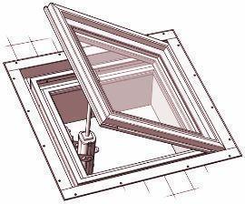 finestre calpestabili tetti  di Gaudino Serramenti