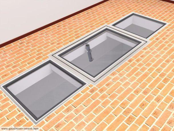 Finestre calpestabili per tetti for Finestre x tetti