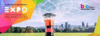 Claber irrigazione ad Expo 2015