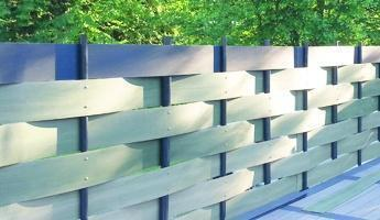 Modello di recinzione proposto dall'Azienda Salamander Outdoor.