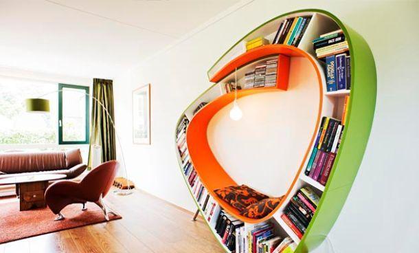 Libreria Bookworm di Atelier 010