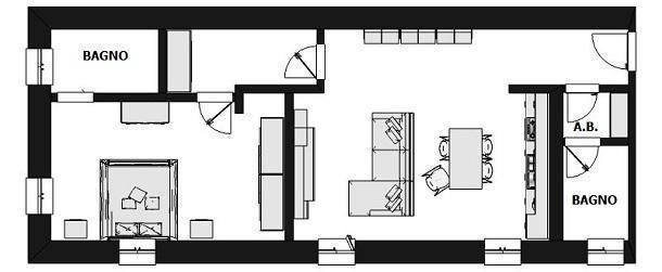 Arredamento moderno: Ristrutturazione, progettazione interni