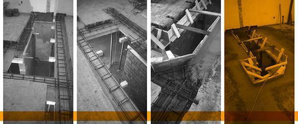Forare un solaio per realizzare una scala interna o aprire for Bagno nei piani del garage