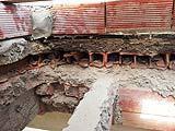 Forare il solaio per inserire un lucernario, stratigrafia del terrazzo