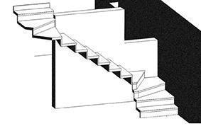 schema della nuova scala interna
