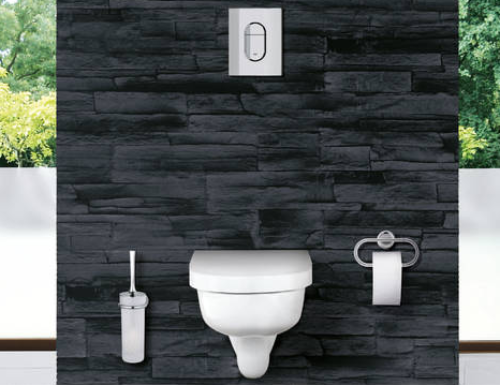 placca per wc grohe