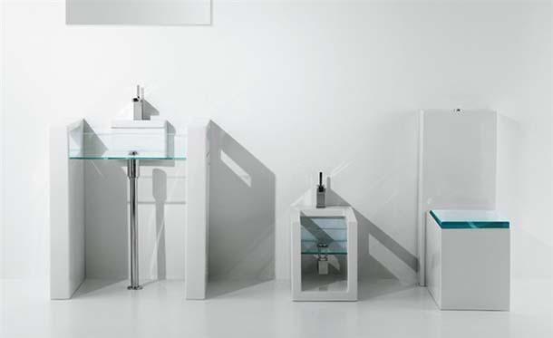 lavabo e sanitari Glass di GSG Ceramic Design