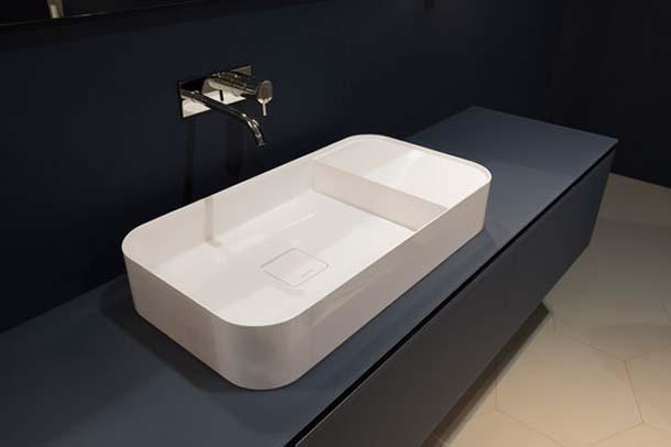 lavabo Graffio, di Antonio Lupi