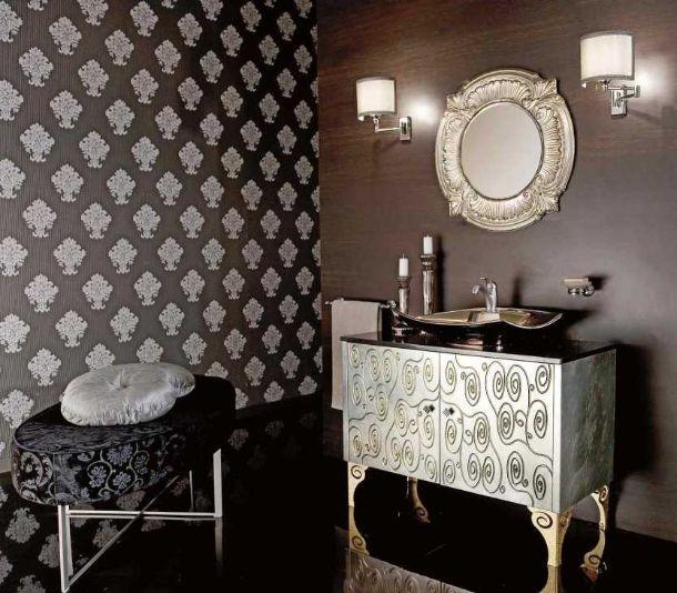 Arredo bagno stile neo barocco for Mobili stile barocco moderno