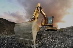 lavori di escavazione