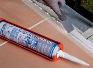 Sigillante acrilico verniciabile for Resina per crepe nei muri