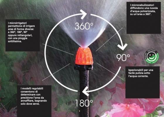 Impianto di irrigazione a goccia fai da te for Sistema di irrigazione automatico