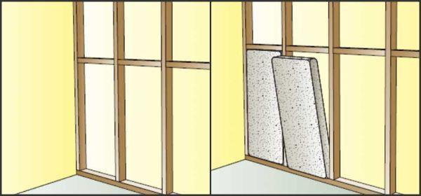 Isolare pareti con pannelli
