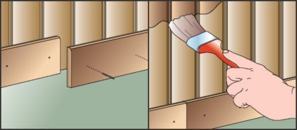 Isolare pareti e solaio