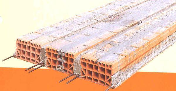 Tipologia di solaio in mattoni