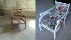 Recuperare vecchi mobili con un tocco di creatività