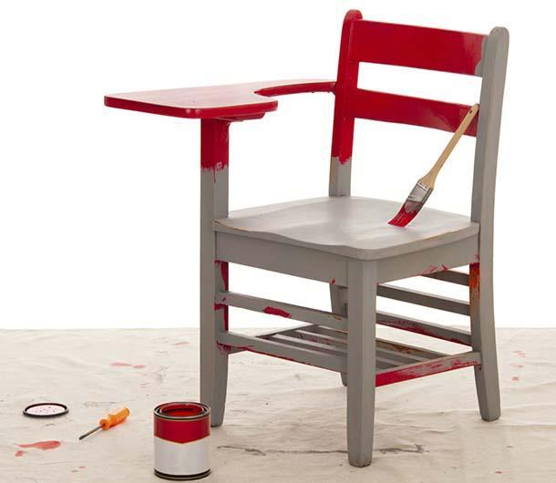 ritinteggiare una sedia