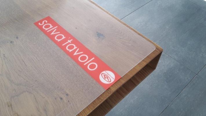 Mollettone salva tavolo legno