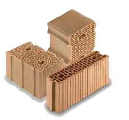 blocchi per murature monostrato di Wienerberger