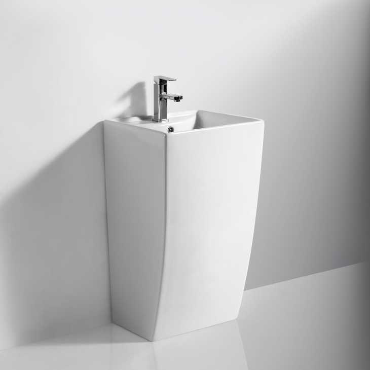 Come arredare il bagno: lavabo Amica Free Standing di Ceramica Neo