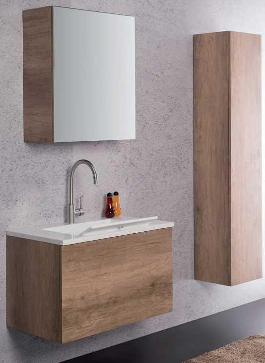 Mobili bagno on line: UNICA Zeus da 80 cm acquistabile su Factory Shop