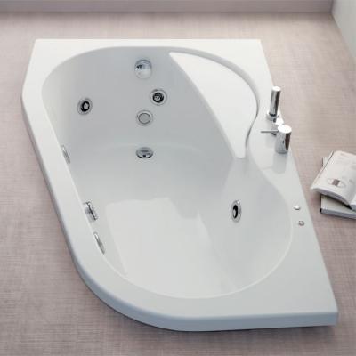 Vasca idromassaggio angolare Warp di Colacril