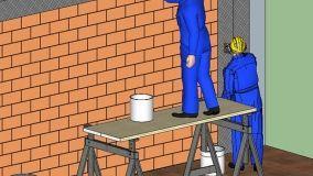 Consolidamento delle murature di tamponamento