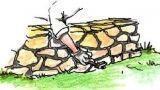 Muretto in pietra nel giardino: come costruirlo