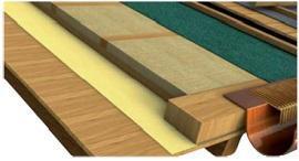 fissaggio di pannello isolante e traspirante per il tetto di Monier