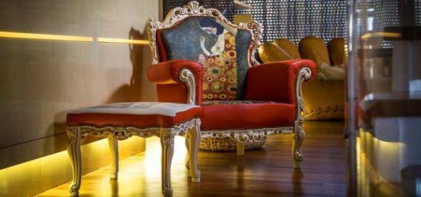 Seduta Speranza II - Gustav Klimt di Alexandro F