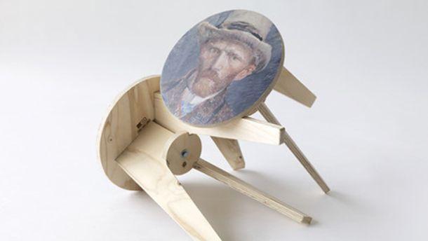 sgabelli artistici di Piet Hein Eek