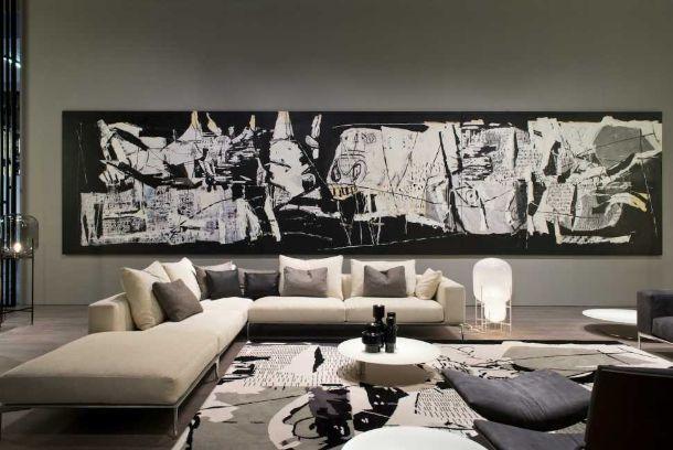 Arredi ispirati a opere d 39 arte famose for Quadri grandi dimensioni arredamento