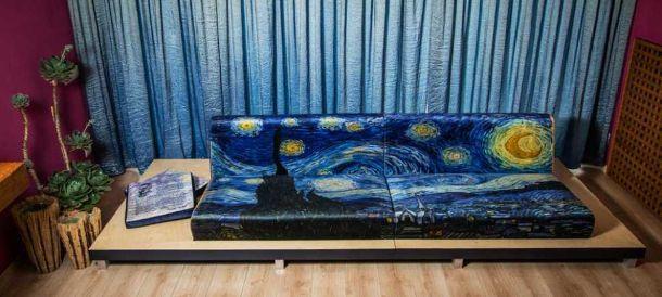 Divano Vann Gogh di Alexandro Fini