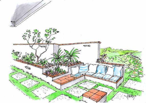Arredi in muratura da esterno un progetto versatile - Disegno progetto casa ...