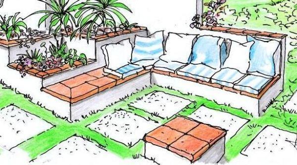 Arredi in muratura da esterno un progetto versatile for Alberelli da esterno