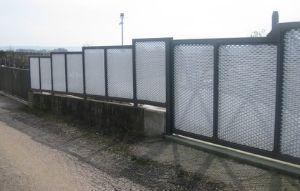 recinzione in lamiera stirata gaudenzi