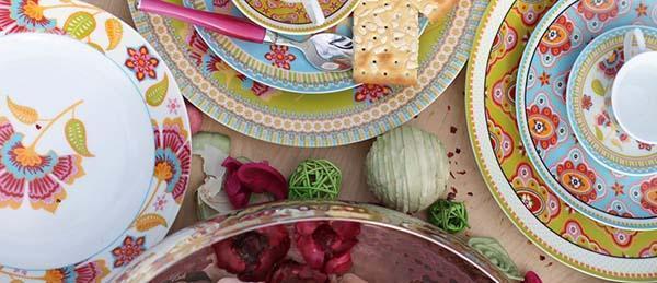 Cose di casa: piatti serie Oriental e Dinasty di Villa D'Este