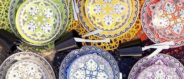 Cose di casa: piatti serie Marocco di Villa D'Este