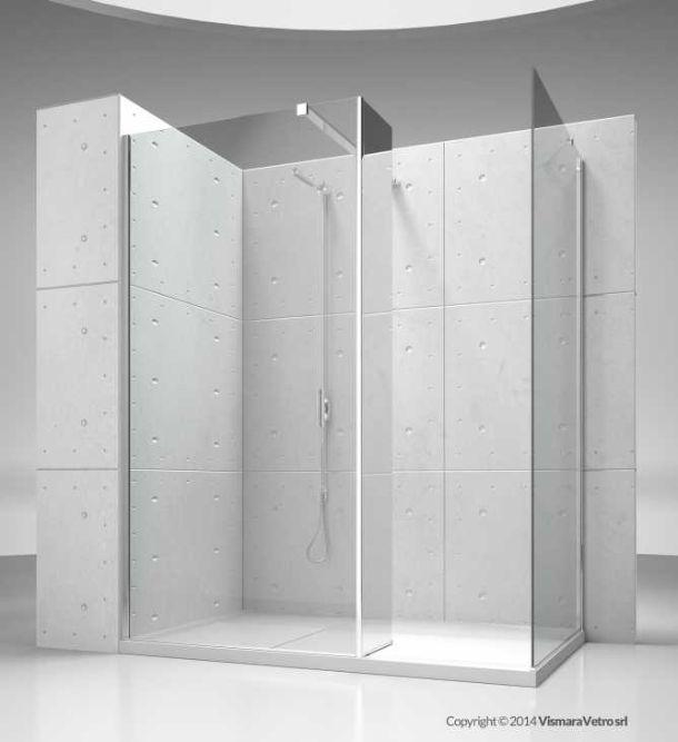 Parete doccia leroy merlin idee creative di interni e mobili for Leroy merlin piatto doccia