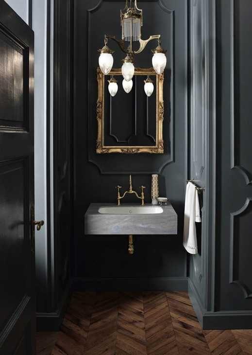 soluzione bagno lavabo in Corian® Peace di DuPont