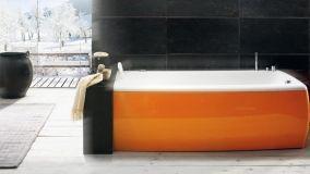 Vasche da bagno a colori