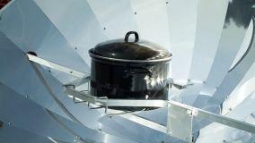Il forno solare per il giardino o la terrazza