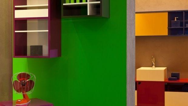 Pareti cucina smalto design per la casa idee per interni - Smalto per pareti bagno ...