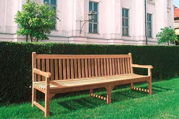 Panchina in legno stile inglese